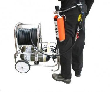 BA trolley (Breathing apparatus) Training  - बीए ट्रली (ब्रेटिंग उपकरण) प्रशिक्षण